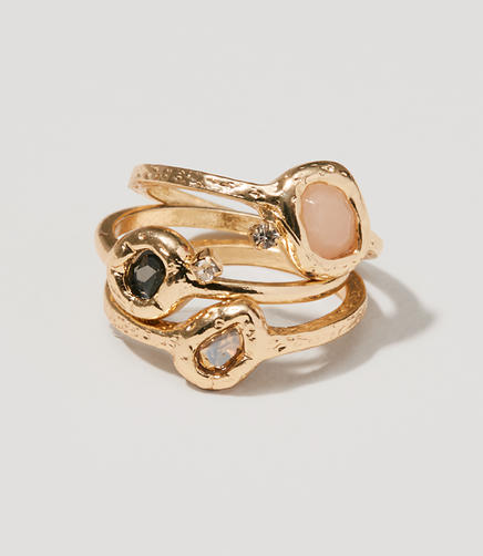 Image of Cosmic Stone Ring Set