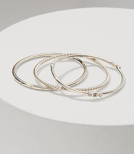 Image of Twist Bangle Set