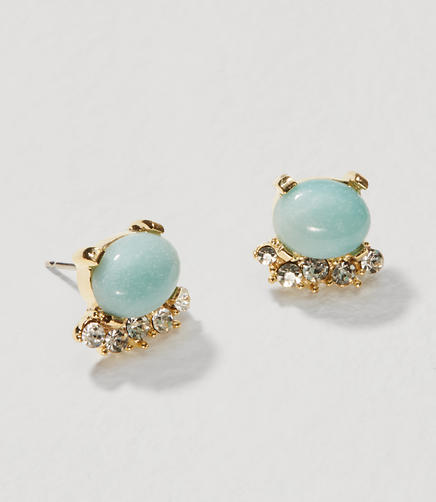 Image of Crystal Stone Stud Earrings
