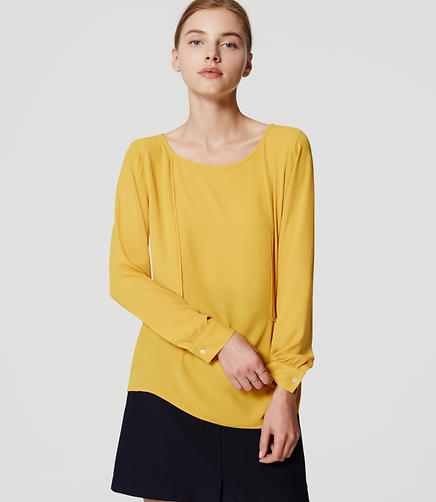 Image of Piped Blouse
