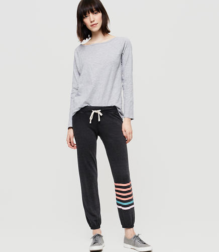 Image of Sundry Striped Sweatpants