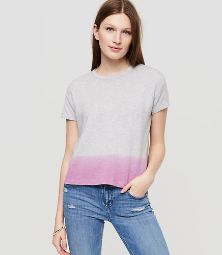 Image of Lou & Grey Dipdye Signaturesoft Tee