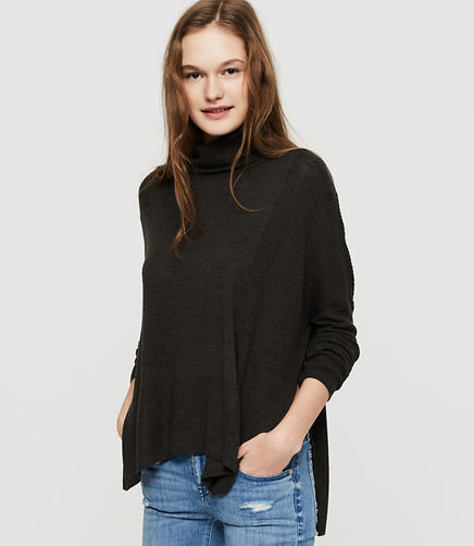 Image of Lou & Grey Ribside Poncho Sweater