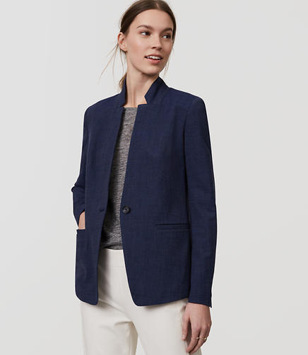 Image of Petite Custom Stretch Notched Blazer