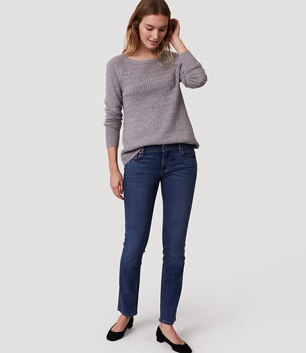 Image of Modern Straight Leg Jeans in Rich Mid Indigo Wash