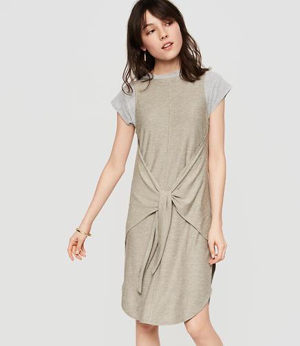 Image of Lou & Grey Tied Marlknit Midi Dress