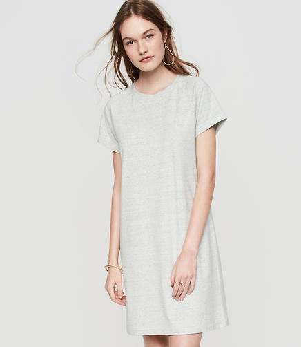 Image of Lou & Grey Sueded Jersey Dress