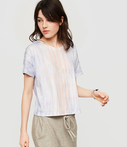 Image of Lou & Grey Tie Dye Relaxed Softserve Cotton Tee