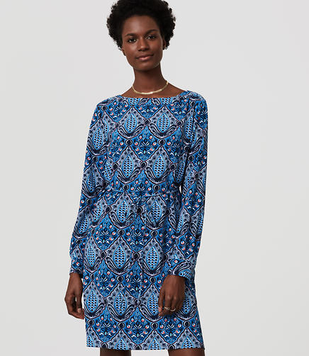 Image of Petite Baroque Shirtdress