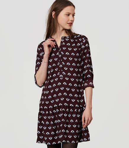 Image of Bee Flippy Shirtdress