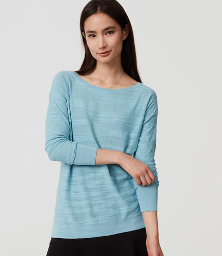 Image of Petite Textured Sweater Tunic