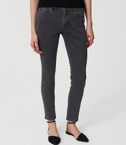 Image of Curvy Skinny Jeans in Vintage Grey Wash