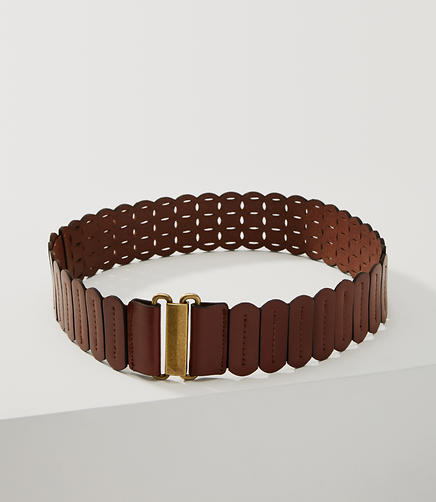 Image of Scalloped Laser Cut Belt