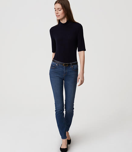 Image of Modern Skinny Ankle Jeans in Original Medium Stonewash