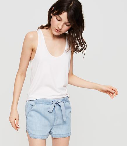 Image of Lou & Grey Chambray Shorts