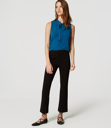 Image of Ponte Kick Crop Pants