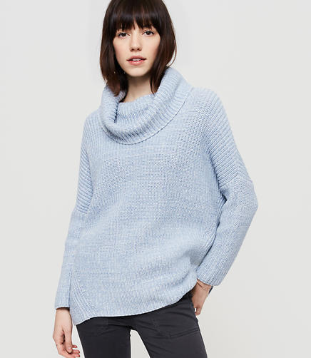 Image of Lou & Grey Ribbed Poncho Sweater