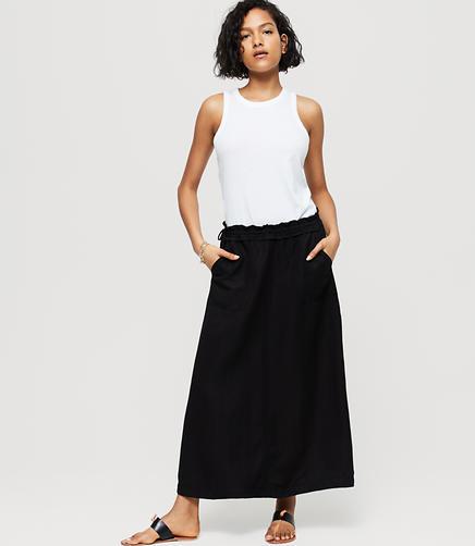 Image of Lou & Grey Fluid Cargo Skirt