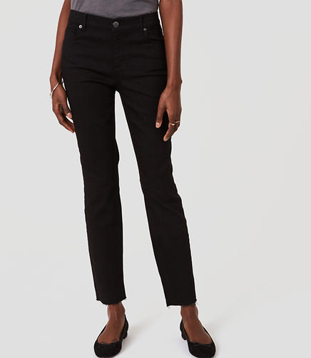 Image of Petite Curvy Skinny Jeans in Black