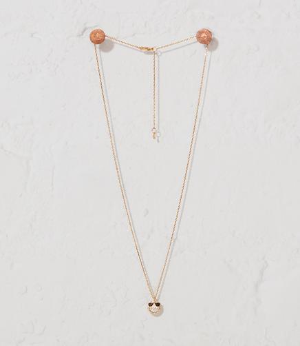 Image of Tai Jewelry Smiley Emoji Necklace