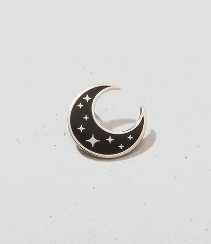 Image of These Are Things Crescent Moon Pin