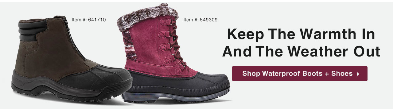 Shop Waterproof Boots and Shoes