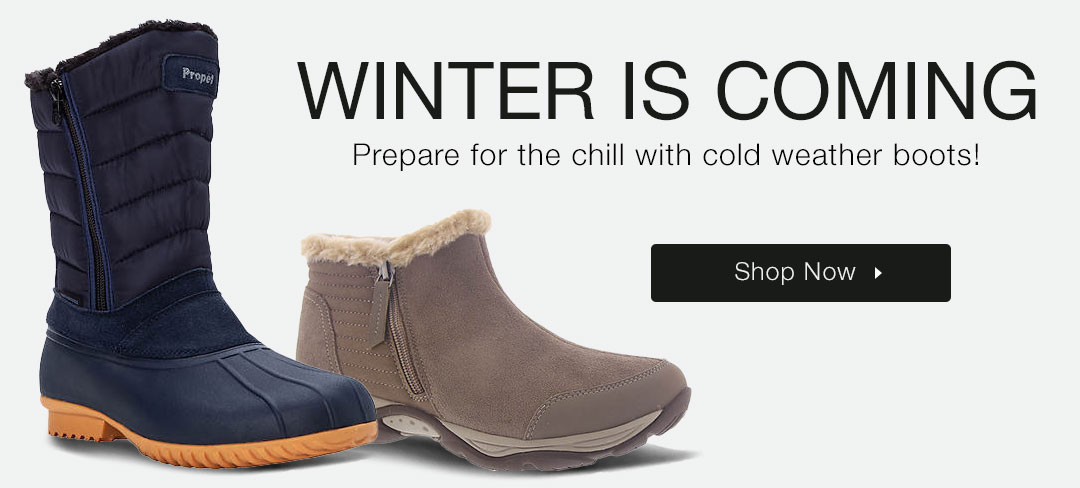 Prepare for the chill with cold weather boots - Shop now