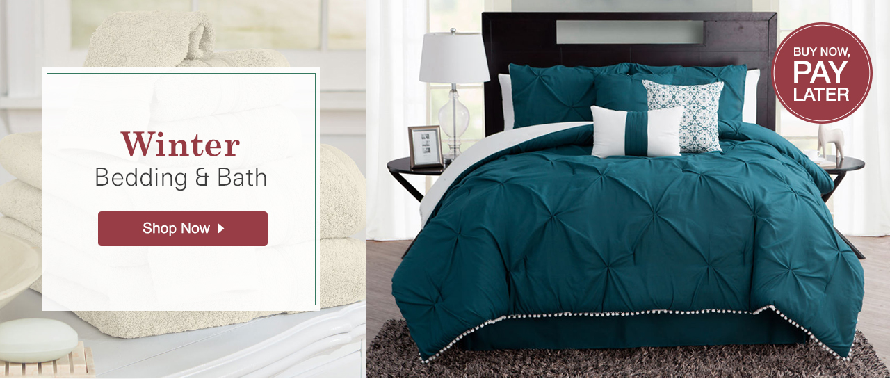 Shop Winter Bedding & Bath