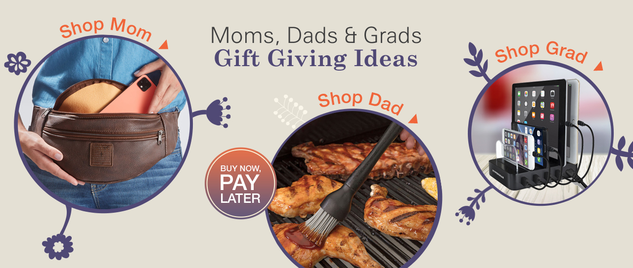 Shop Gifts for Mom, Dad & Graduate