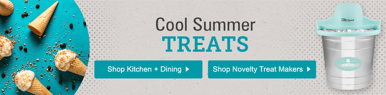 Cool Summer Treats. Shop Kitchen, Dining and Novelty Treat Makers