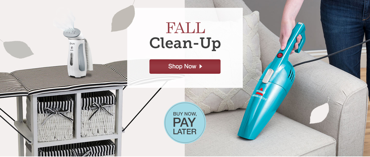 Fall Clean-Up. Shop Now