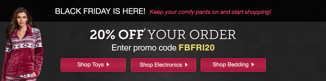20% Off Your Order. Promo Code: FBFRI20. Save Now