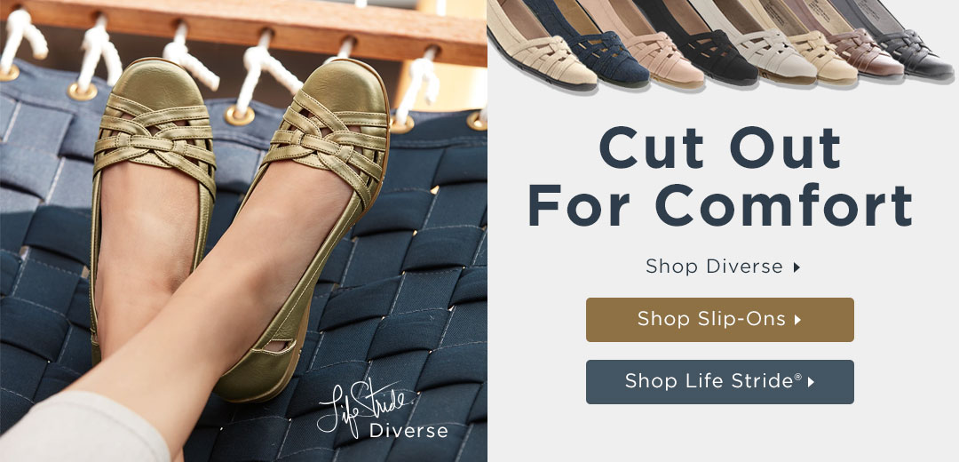 Cut Out for comfort - Shop Diverse by Life Stride