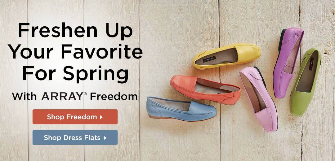 Freshen Up Your Favorite For Spring With ARRAY Freedom - Shop Now