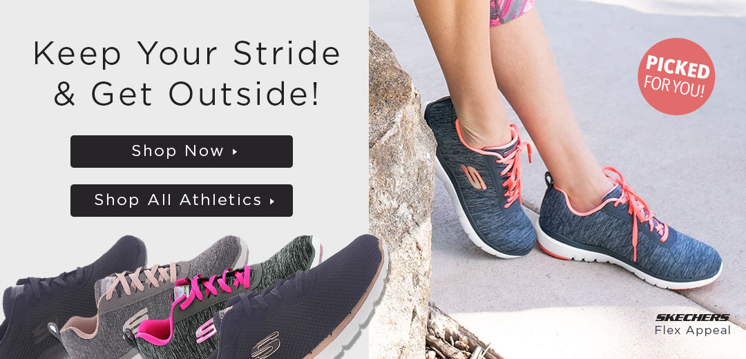 Keep Your Stride And Get Outside - Shop Athletics