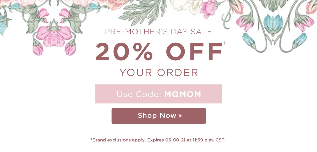 20% Off Your Order