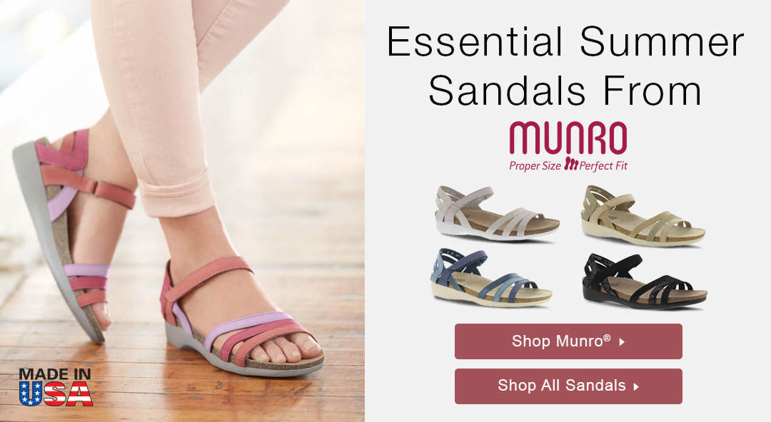 Summer Sandals From Munro - Shop Now