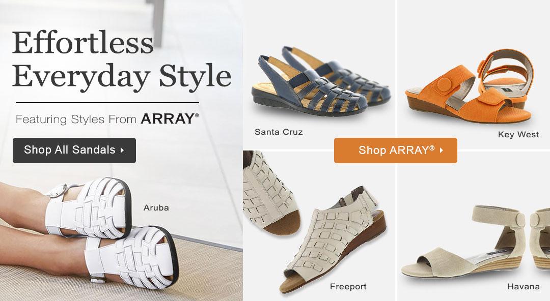 Effortless Everyday Style - Shop Sandals!