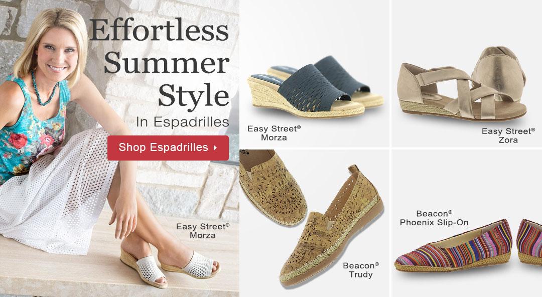 Effortless Summer Style In Espadrilles - Shop Now