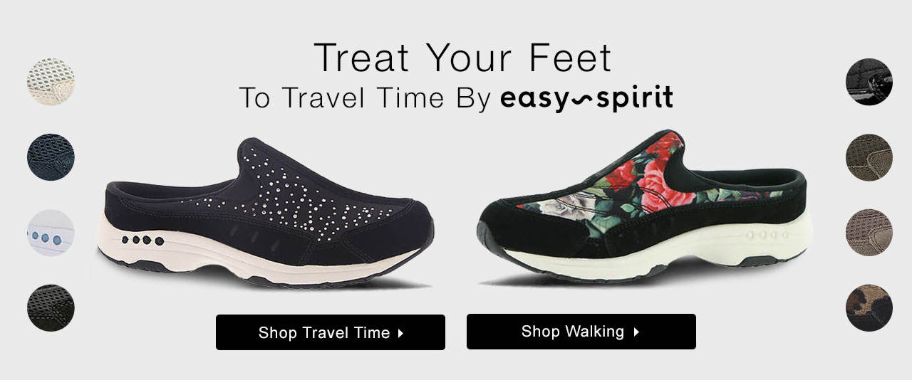 Treat Your Feet To Travel Time By Easy Spirit