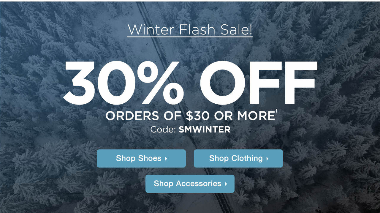 Winter Flash Sale!