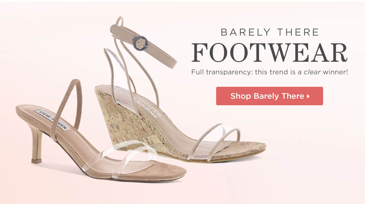 Shop Barely There Footwear