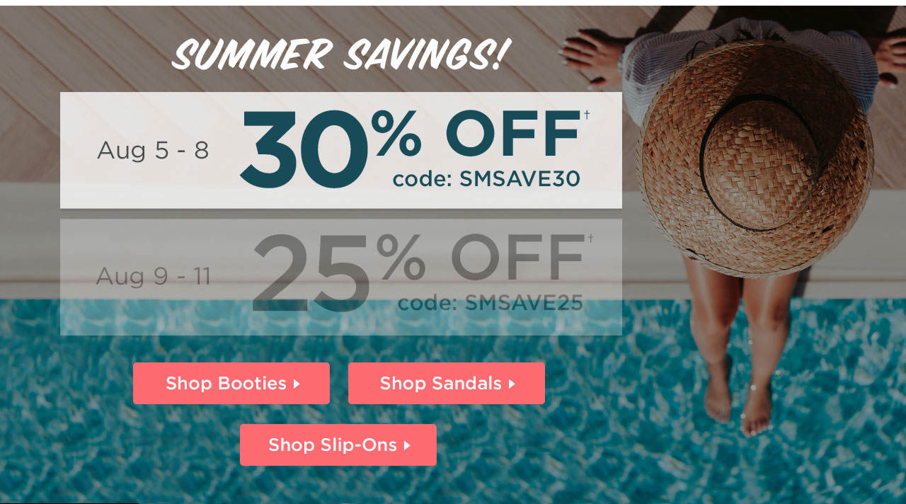 Summer Savings! 30% Off Your Order With Code: SMSAVE30