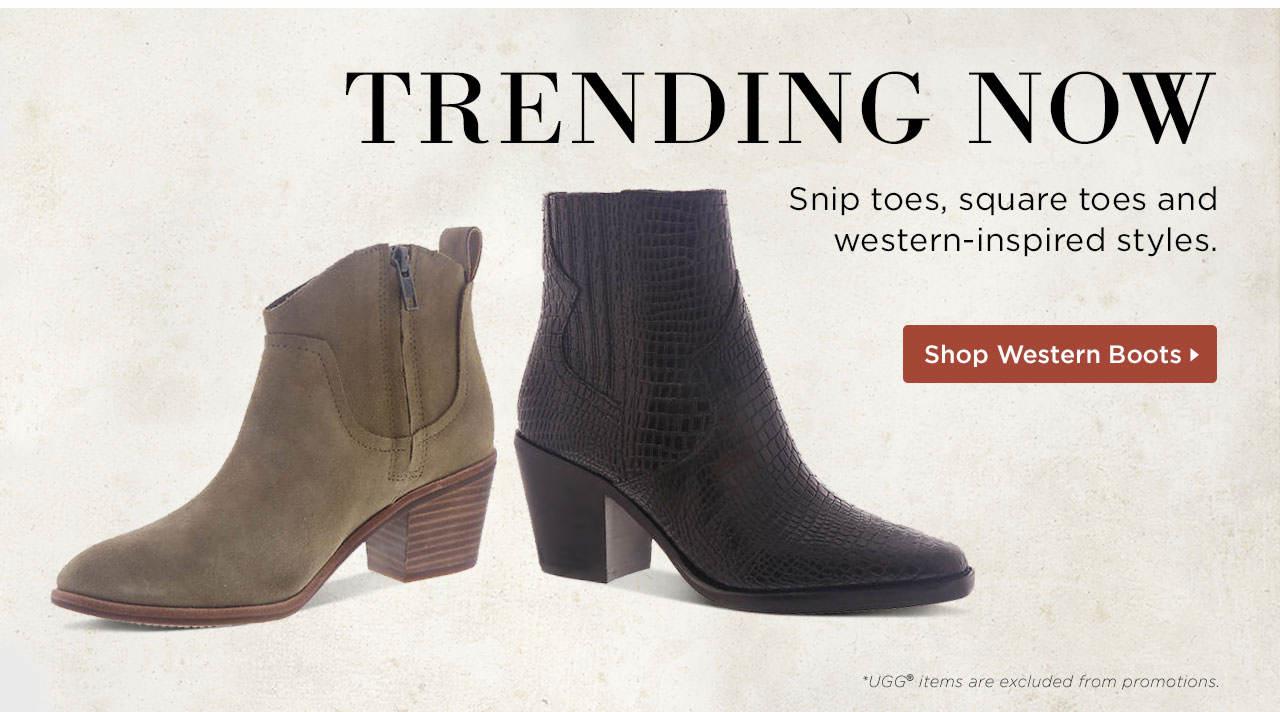 Trending Now - Western Boots