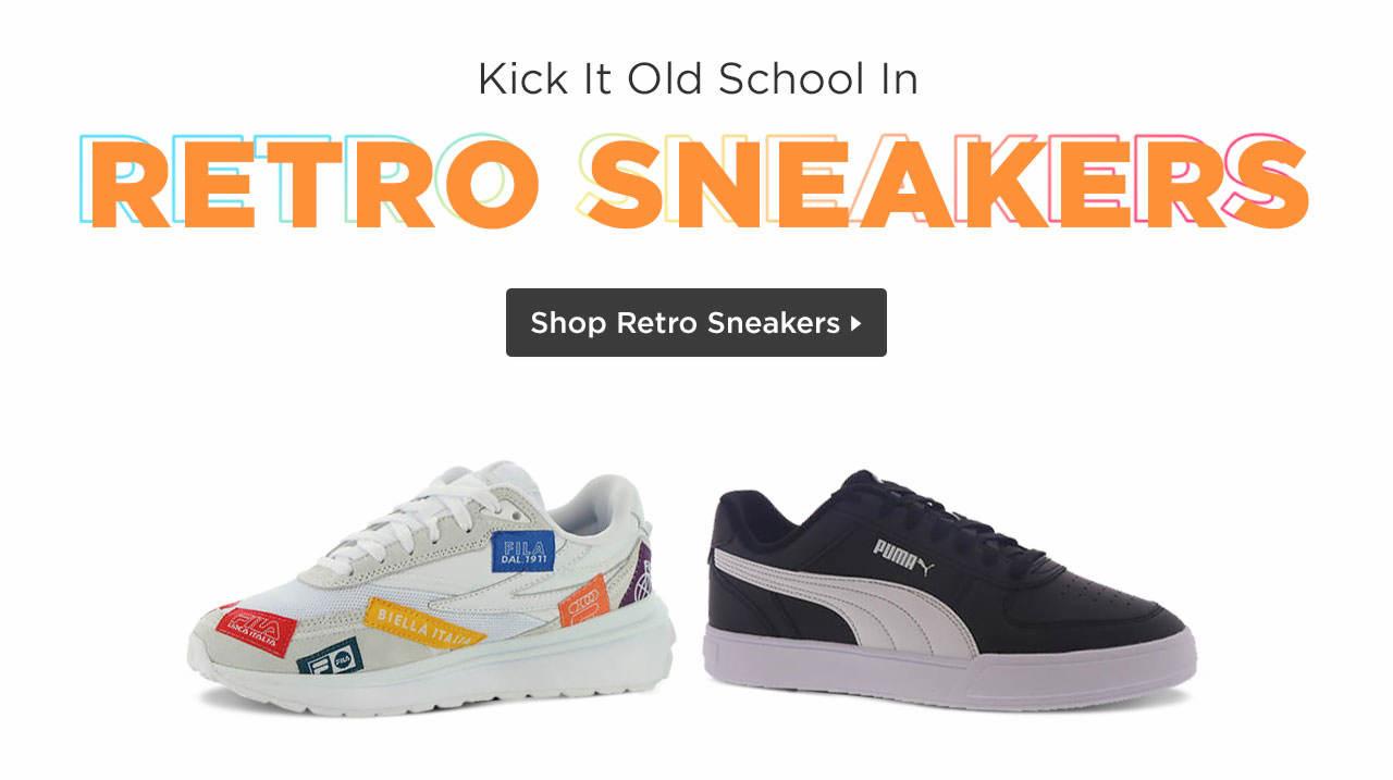 Shop Retro Sneakers