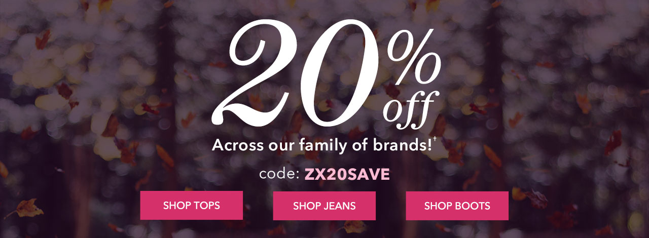 20% Off With Code: ZX20SAVE