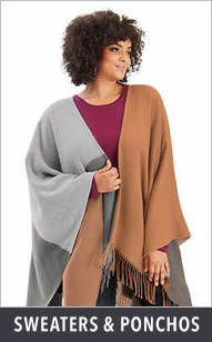 Shop Sweaters & Ponchos