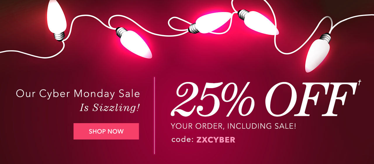 25% Off Sitewide With Code: ZXCYBER. Shop Now.