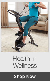Shop Health + Wellness
