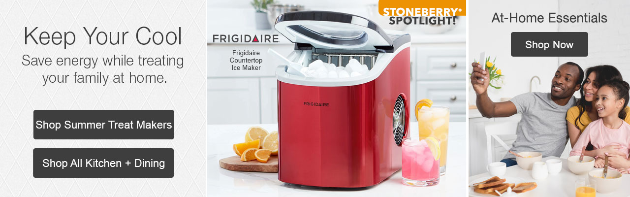 Shop summer treat makers and save energy while treating your family at home.